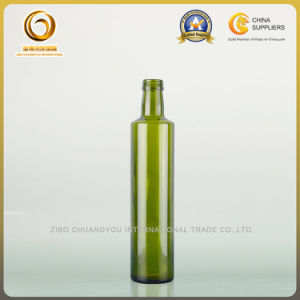 Food Grade Empty 500ml Dark Green Oil Glass Bottle (102) pictures & photos