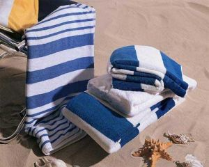 Yarn Dyed Microfiber Beach Towel