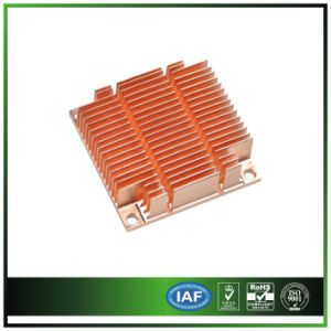 Copper Heatsink for 1 U Server pictures & photos
