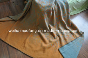 100%Pure New Virgin Wool Blanket (NMQ-WB033) pictures & photos