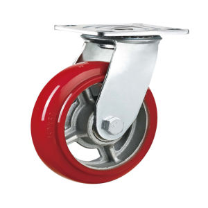 Heavy Duty Double Bearing PU Caster