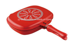 Non Stick Double Frying Pans (ZY-H032-BRD)