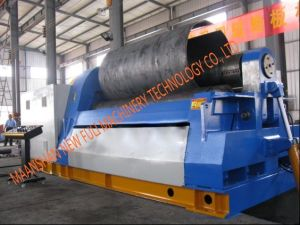 W12 Hydraulic Plate Rolling Machine , Conical Rolling Machine