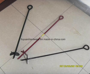 Factory Powder Coated Earth Anchor Anchor Kit pictures & photos