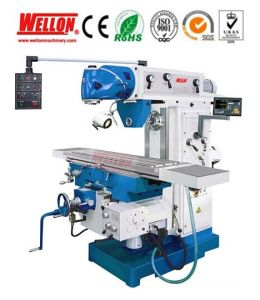 Universal Milling Machine with Swivel Table (Universal Mill Machine X6436) pictures & photos