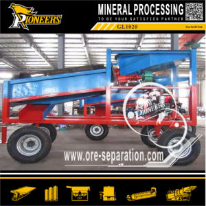 Small Gold Mining Separation Machine Mini Portable Gold Ore Trommel