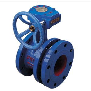 Gear Type Flexible Double Flange Butterfly Valve pictures & photos