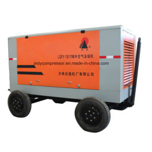 Portable Diesel Drive Rotary Screw Air Compressor
