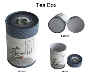 Round Box for Tea, Round Paper Tea Tube pictures & photos