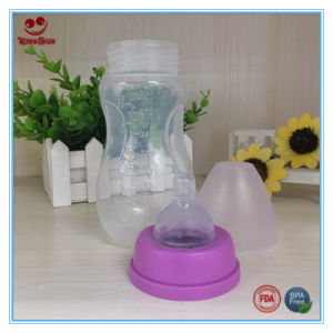 BPA Free PP Baby Milk Bottles with Nipple pictures & photos