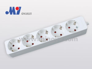 5ways Socket, with Cable (GN1615)