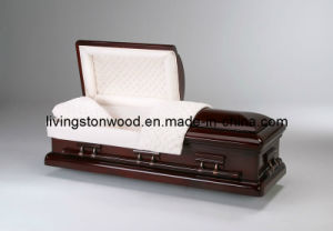 American Style Solid Mahogany Casket (Presidential)