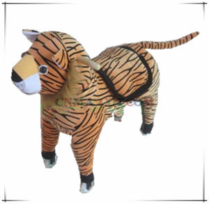 Battery Powered Tiger Ride on Toy Animal Ride Plush Toy