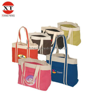 Cotton Canvas Tote Bag, Cotton Shopping Bag (FLY-MB01) pictures & photos