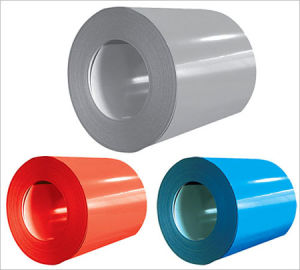 Various Color 0.15-0.6mm*750-1250mm Color Coated Steel Coil PPGI/PPGL pictures & photos