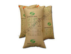Brown Kraft Paper Dunnage Bags for Cargo Using pictures & photos