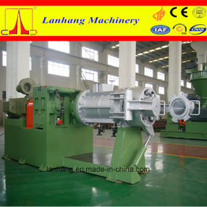 PVC Single Screw Strainer Extruder pictures & photos