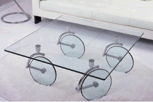 6-8mm Tempered Clear Float Glass Top for Table/Furniture Glass