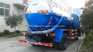 China 10m3 Vacuum Sewage Suction Truck with 4X2 Chassis pictures & photos