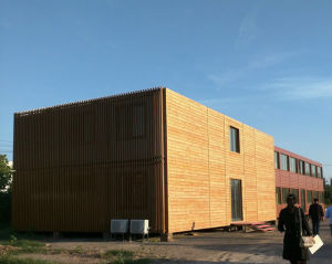 New Design Luxury Prefabricated Container House with Toilet / Office Room / Solar Panel