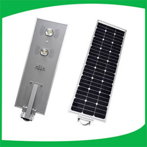 70W Waterproof IP 65 Solar Street Light with Post pictures & photos