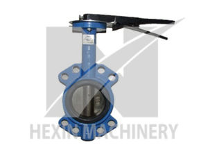 Nodular Cast Iron Butterfly Valve with Investment Casting pictures & photos