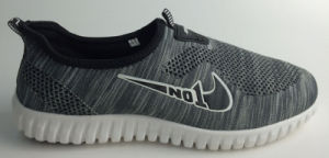 Casual Light Flyknit Slip-on Shoes Ready Stock pictures & photos