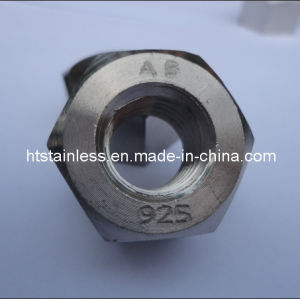 Incoloy 925 Heavy Hex Nut pictures & photos