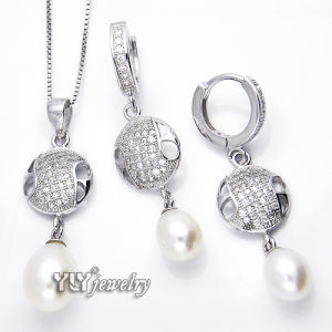 Elegance 925 Silver Pearl Jewellery (YS-1413) pictures & photos