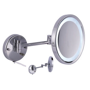 Professional Wall Mounted Mirror with Magnifying (WT-1167) pictures & photos