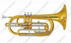 Brass Instruments/ Trombone/Marching Trombone (CMT-100L) pictures & photos