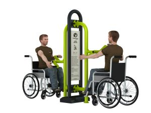 Outdoor Fitness Equipment for Disabled People pictures & photos