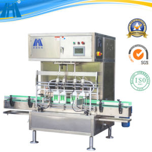 4 Heads Automatic Volumetric Filling Machine for Oil or Sauce