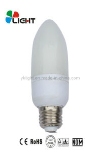 9W 42mm Candle Shape Energy Saving Lamp