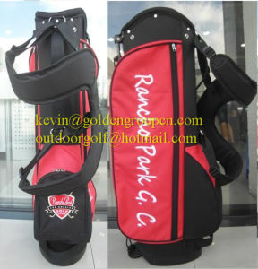 China Wholesale PU Material Stand Golf Bag pictures & photos