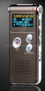 Digital Voice Recorder with MP3 Player for Studing/Meeting/Gift (ID-1028)