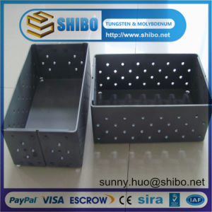 Best Quality Tzm Molybdenum Boat for MIM Powder Metallurgy Injection Molding pictures & photos