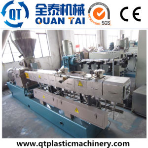 Filler Masterbatch Pelletizing Machine/ Compounding Machine/Double Screw Extruder pictures & photos