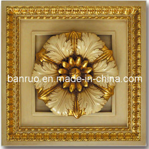 Luxury Cheap Square Ceiling Panel for Hall Decoration (PUBH50-2-F19) pictures & photos