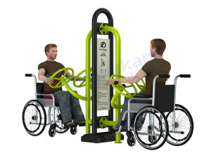 Disabled Playground Outdoor Handicapped Grm Park Fitness Equipment pictures & photos