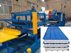 High Quality EPS and Rock Wool Sandwich Panel Machine