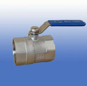 1PC Stainless Steel Ball Valves with Reverse Handle pictures & photos