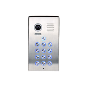 4 Wires Video Intercom Villa System (Outdoor station PL980C4P) pictures & photos