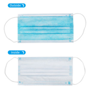 Filter Face Mask Disposable 3 Ply Earloop with Strict Quality