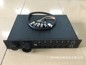 Signal Power Supply Metal Panel Box