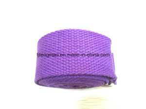 Purple Yoga Cotton Belt