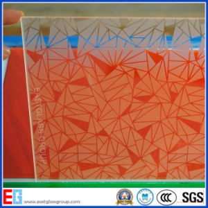 4-12mm Acid Etched Glass Figured/Pattern Glass (AD48)