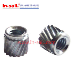 China Fastener Supplier Stainless Steel Insert Nut for Blood-Glucose Meter pictures & photos