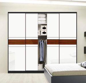 Modern Style 2 Sliding Door Wooden Closet (customized) pictures & photos