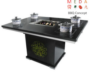 China Durable Cheap Hot Pot Table For Korean BBQ Restaurant And - Standing table for restaurant